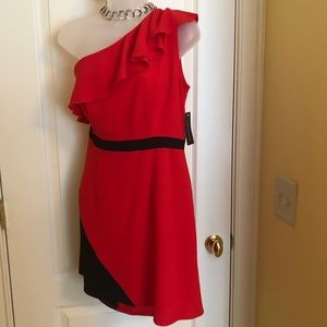 veronica rameriz Dresses - Red Black Dress VERONICA RAMERIZ  Dress NWT